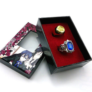 Black Butler Rings - Accessory Shop