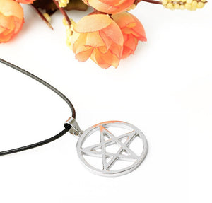 Black Butler Pentagram Necklace - Accessory Shop