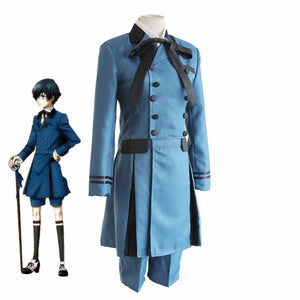 Black Butle Phantomhive Cosplay Costume - Accessory Shop