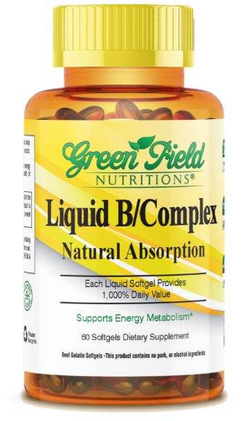 Halal B Complex, Liquid in Softgel