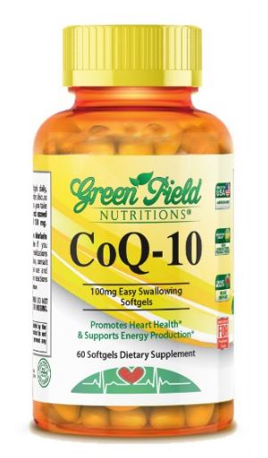 Halal CoQ10 - Vitamin- Antioxidant from Greenfield Nutritions