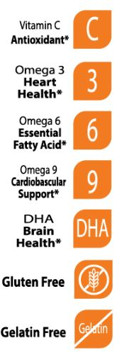 Halal Omega with DHA for Kids - Support Brain Development - 60 Gummies