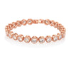 Danna Rose Gold Tennis Bracelet