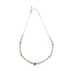 Agnelia Rose Gold & Pearl Necklace