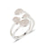 Lilia Rhodium Ring size 8