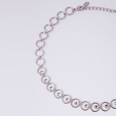 Leonie Rhodium Necklace