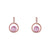 Leonie Rose Gold Earrings