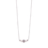 Maya Rhodium Short Necklace