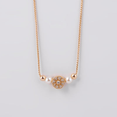 Maya Gold Short Necklace