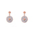 Esme Rose Gold Earrings