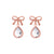 Bow & Teardrop Earrings