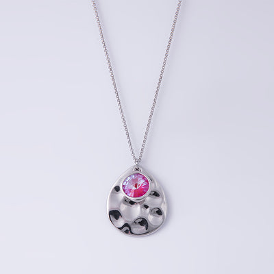 Lotus Pink Delite Long Necklace