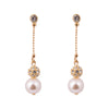 Paulette Gold & Pearl Earrings