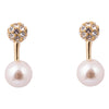 Grazia Gold & Pearl Earrings