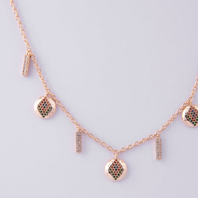 Dalia Multi Drop Necklace