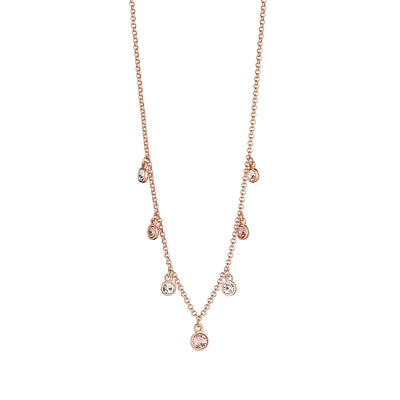 Andrea Vintage Rose Necklace