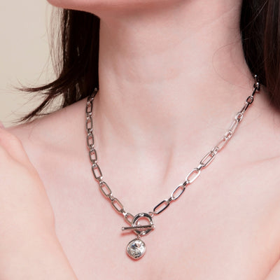 Isabella Silver Necklace