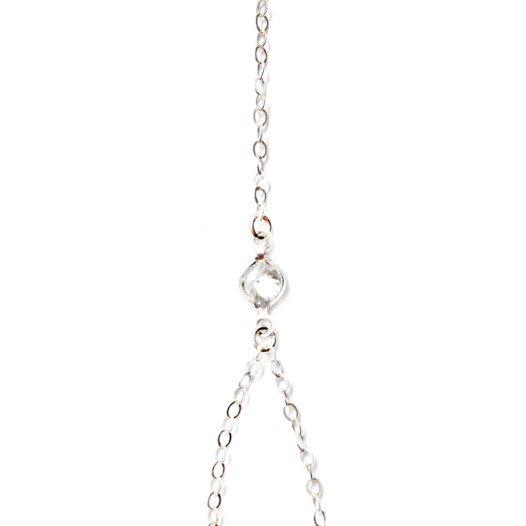 JACQUELYN CRYSTAL HAND CHAIN