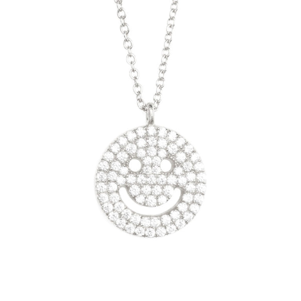 ALLEGRA CZ PAVÉ NECKLACE