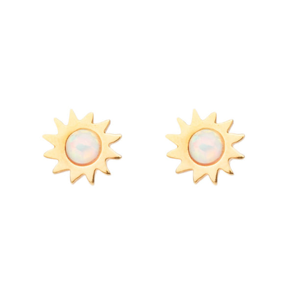 CAIRO OPAL SUN STUD EARRINGS
