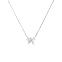 PAVÉ CRYSTAL BUTTERFLY NECKLACE