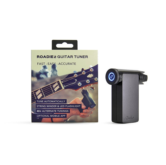 Roadie 2 - Standalone Automatic Smart Guitar Tuner for String Instruments (Guitar, Banjo, Ukulele)