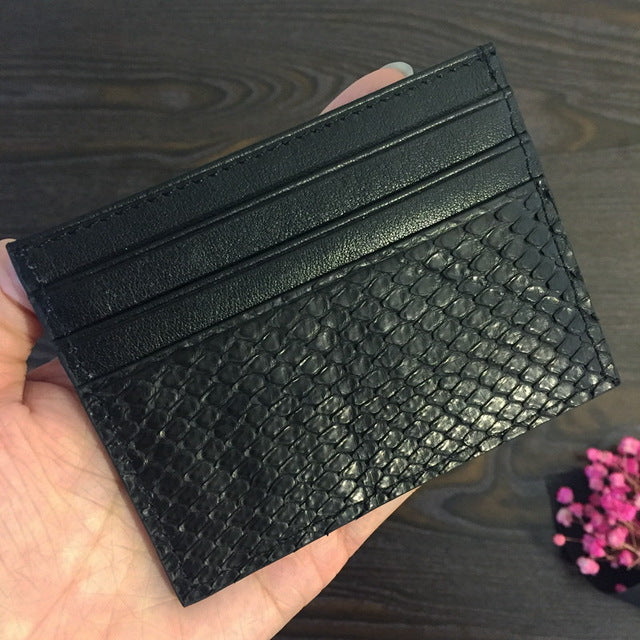 Python Card Holder
