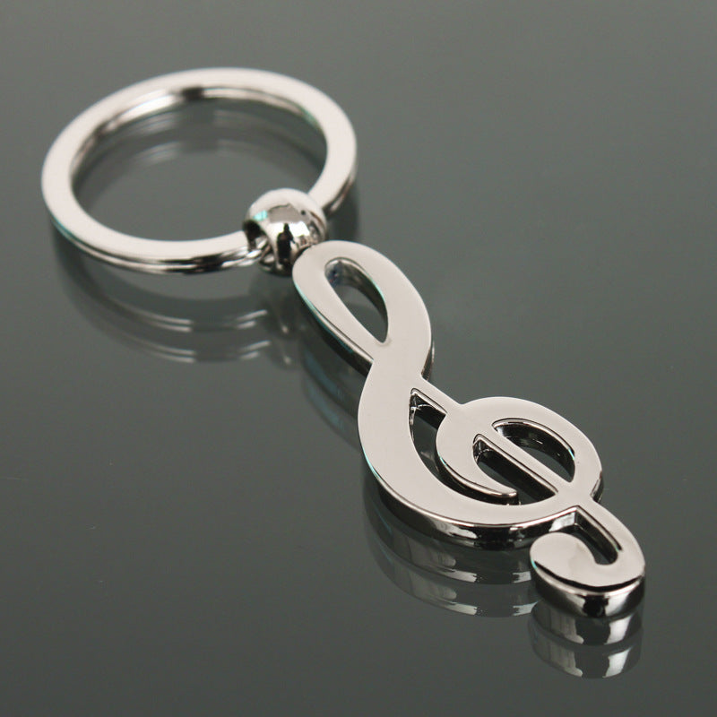 Music Note Keychain