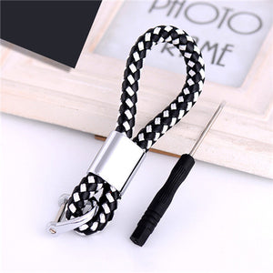 Braided Loop Keychain