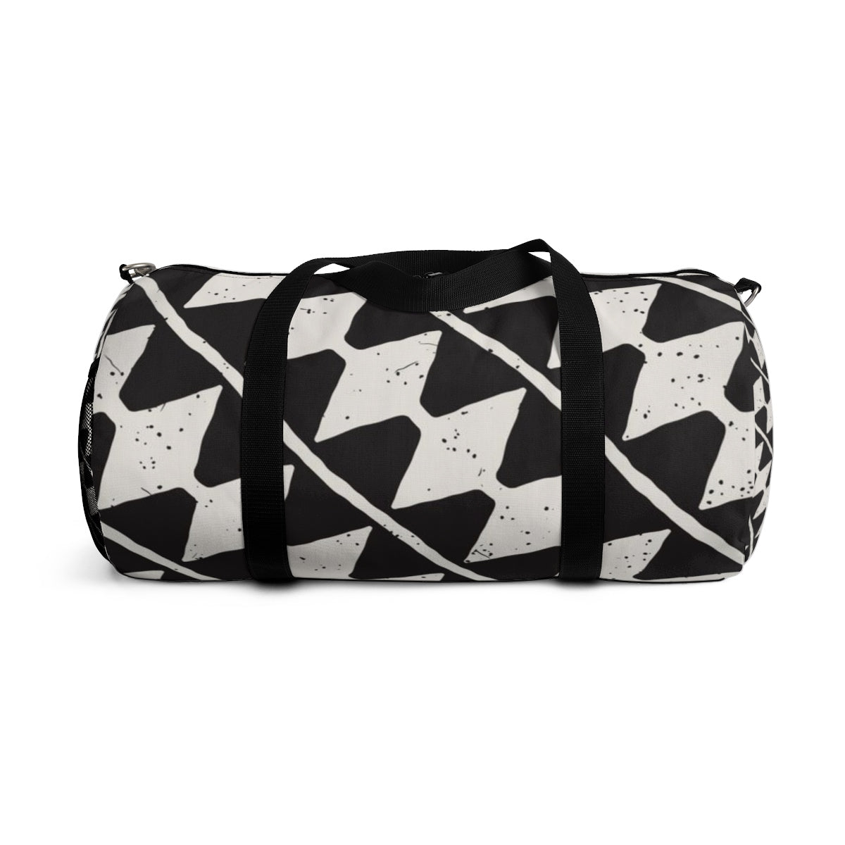 8e5d5a3ee1e5 Duffle Bag - Black   White Pattern - Sungate Gifts