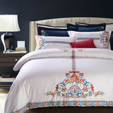 Royal Bed Set Egyptian 100% Cotton 600 Thread Count