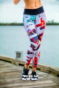 Zuly Boutique Orlando Exclusive original Zuly designs and patterns on one size fits all Women's Leggings sportswear