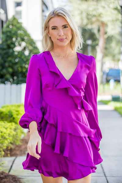 DO+BE Long Sleeves Dress FINAL SALE - Zuly Boutique Orlando Florida