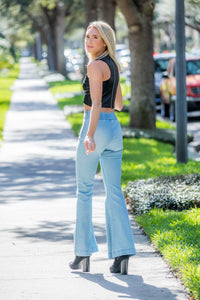 On Twelfth Flare Jeans - Zuly Boutique Orlando Florida