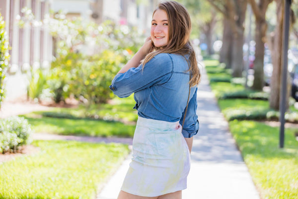 Blue Age Chambray Long Sleeve Shirt - Zuly Boutique Orlando Florida
