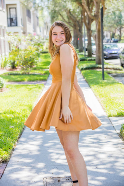 Lycra Short Dress FINAL SALE - Zuly Boutique Orlando Florida