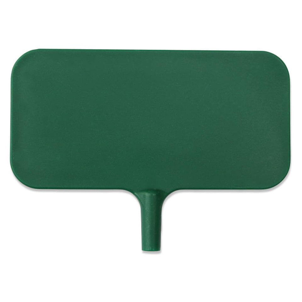 Large green garden and plant identification marker nameplate 3.25 x 1.75