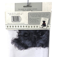 Patterdale Terrier Tea Towel – Little Dog