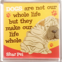 "Wags & Whiskers Dog Magnet ""Shar-Pei"" by Paper Island"