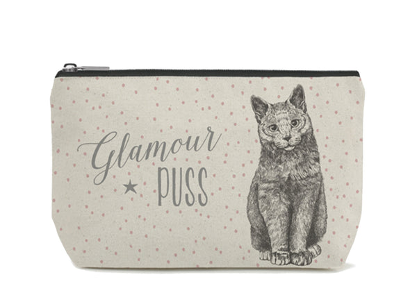 East of India - Toiletry/Cosmetic Bag - Cat