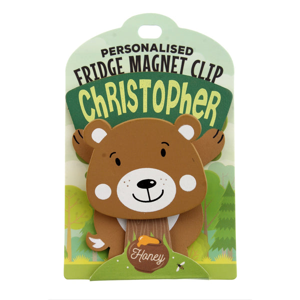 Fridge Magnet Clip Christopher
