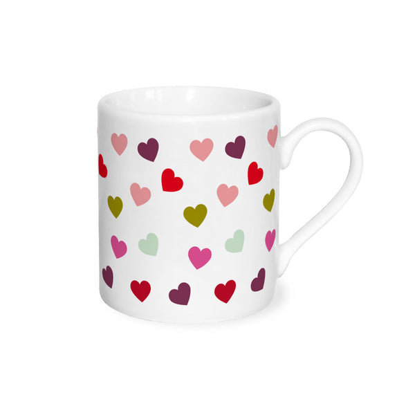 Scattered Hearts Espresso Coffee Cup