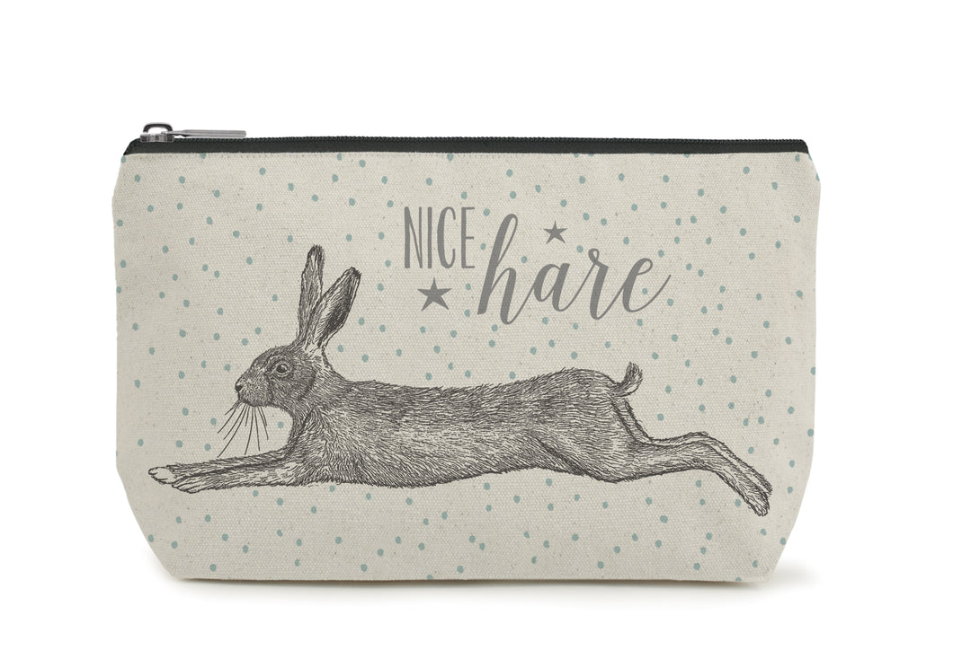 East of India - Toiletry/Cosmetic Bag - Hare