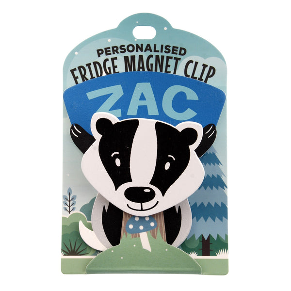 Fridge Magnet Clip Zac