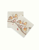 The Berry Branch Coaster (x2) By Kate of Kensington (10cm x 10cm)