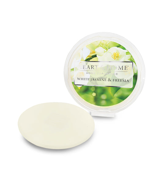 Heart & Home White Jasmine & Freesia Scented Soy Wax Melt