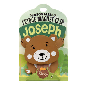 Fridge Magnet Clip Joseph