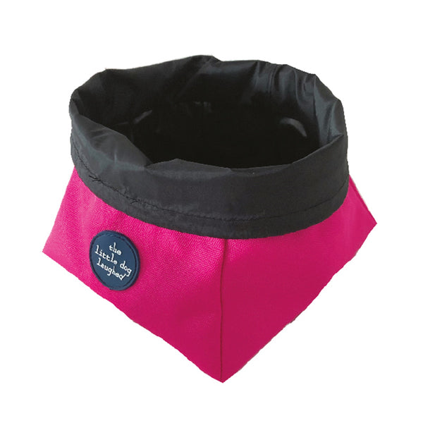 Pet Travel Bowl – Pink