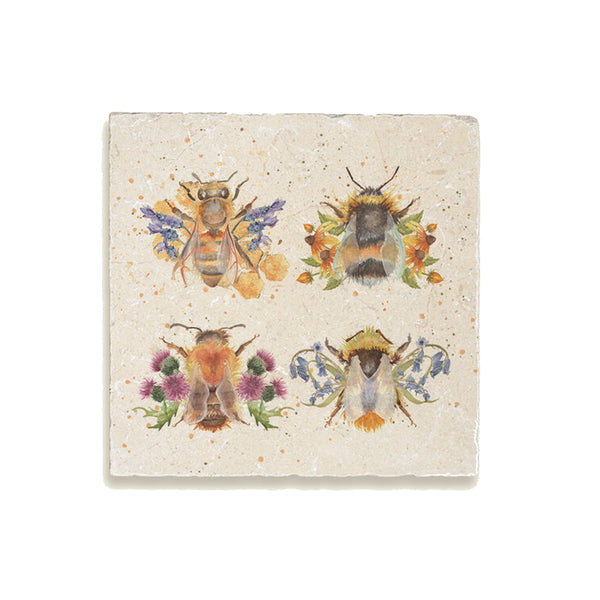 The British Collection: Bees Medium Platter By Kate of Kensington