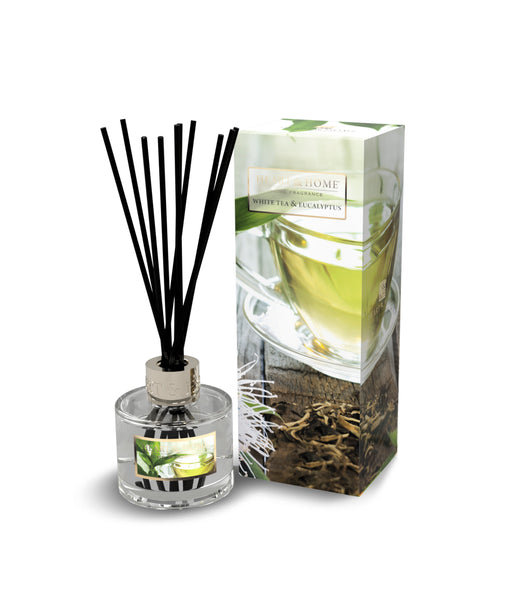 White Tea & Eucalyptus Fragranced Reed Diffuser from Heart & Home Scent With Love Collection
